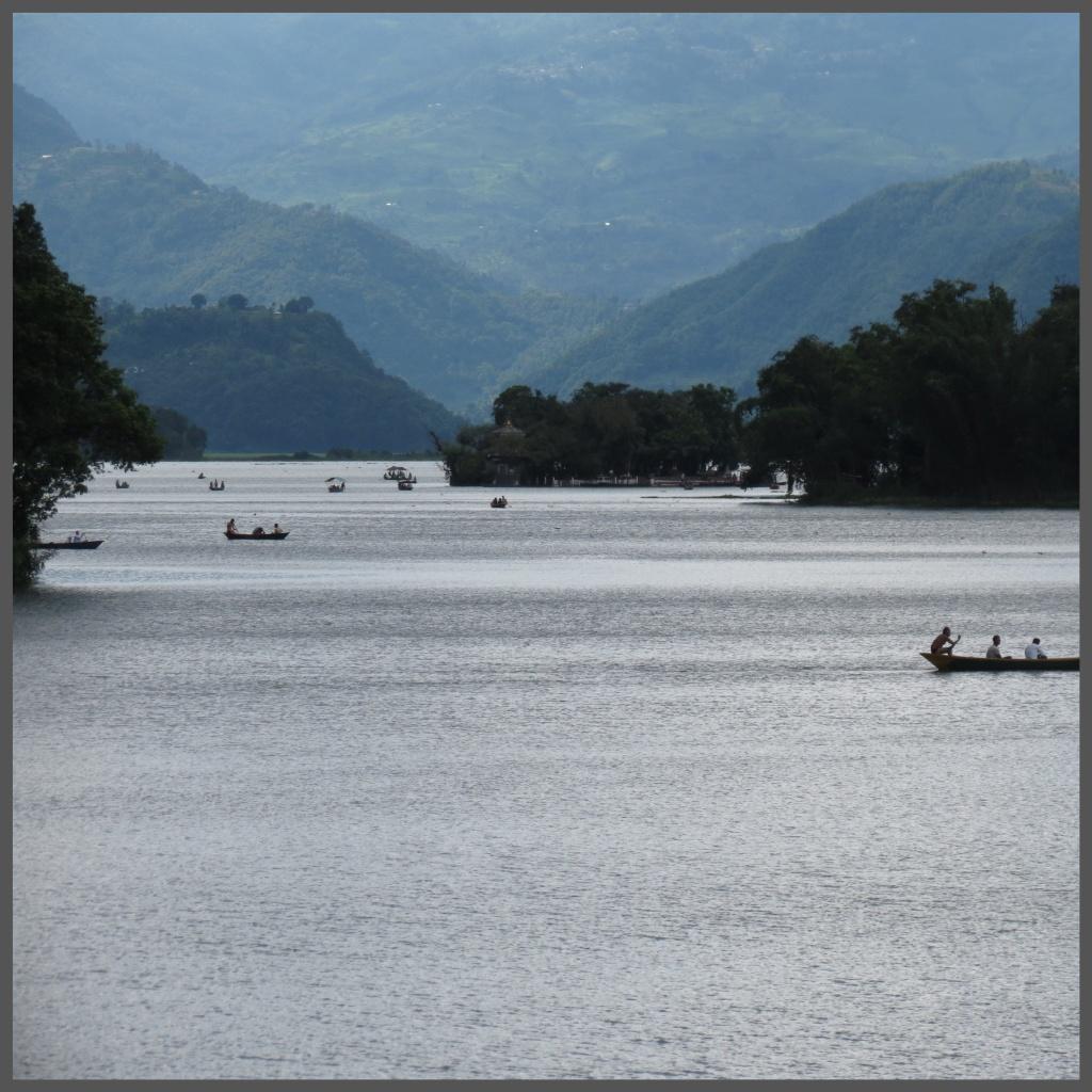 The beautiful Phewa Lake