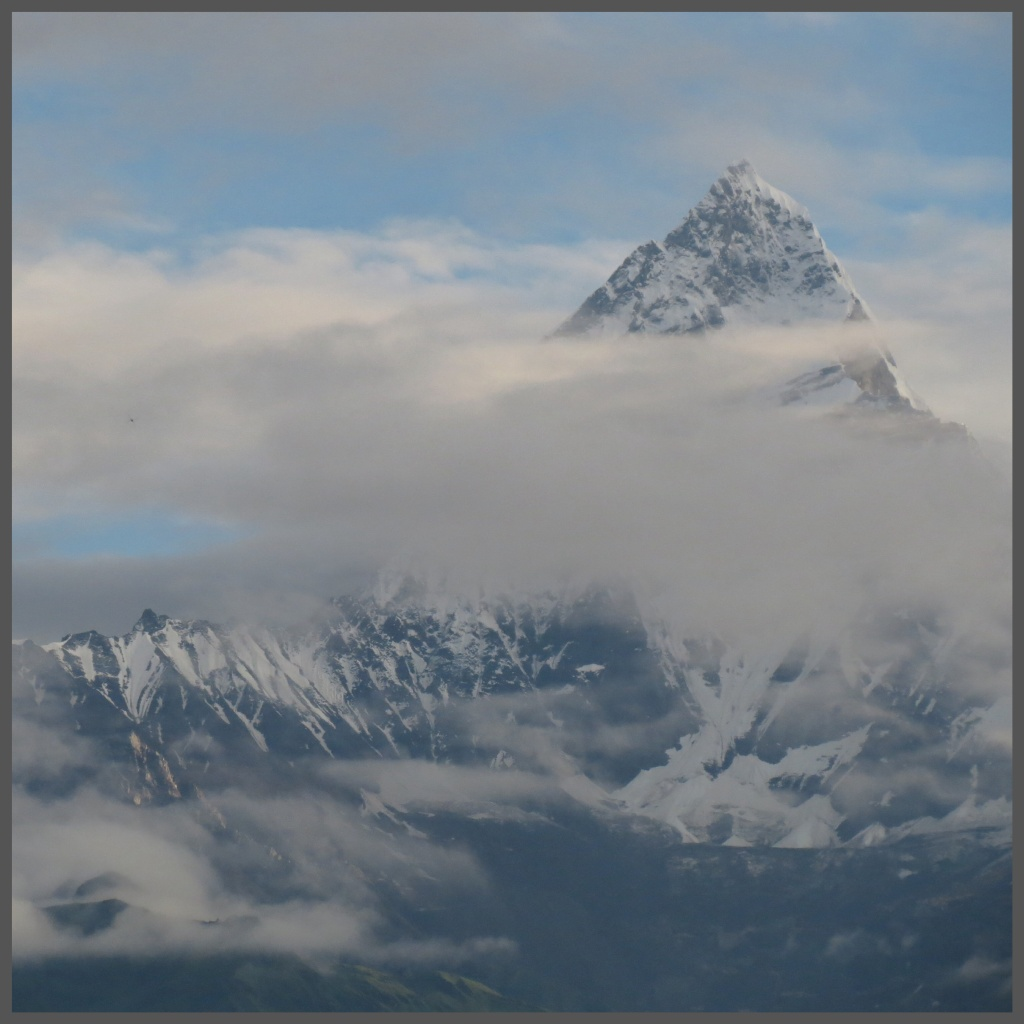 The Fishtail Mountain