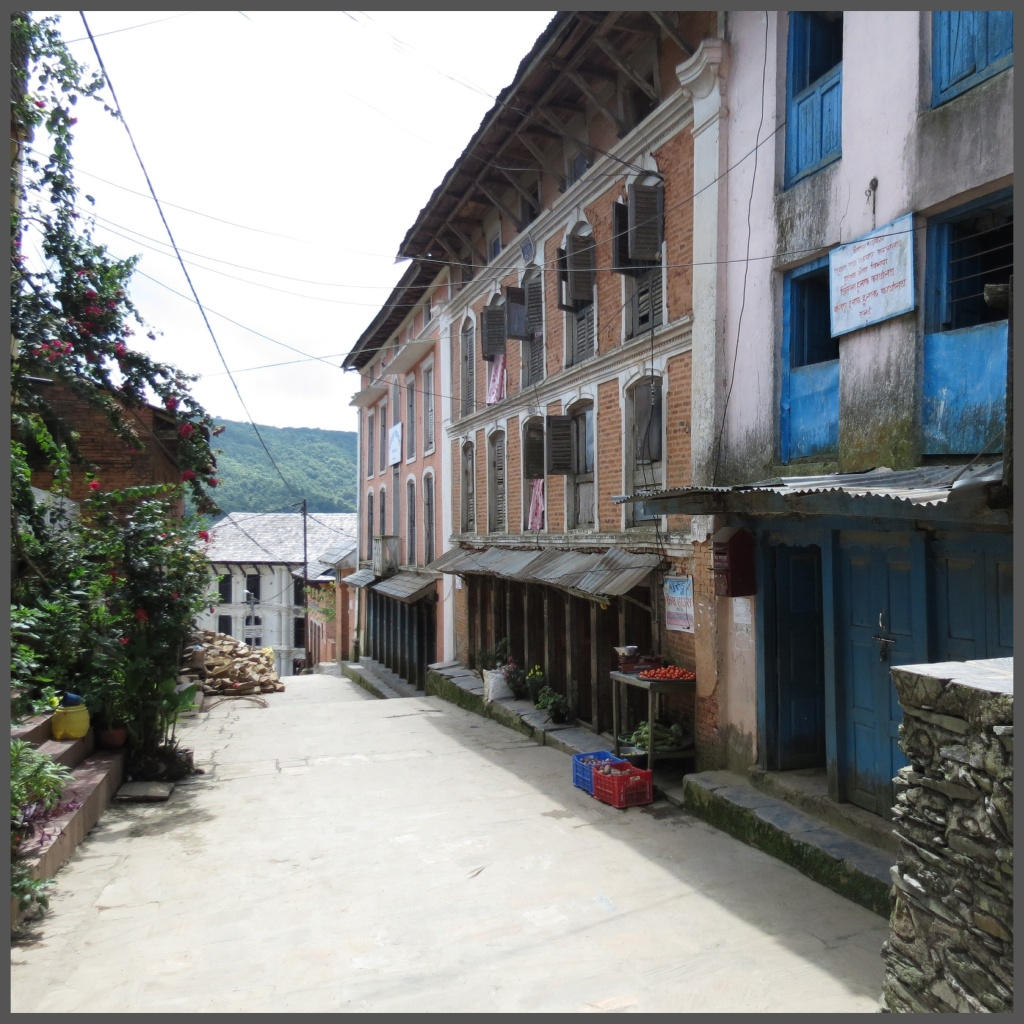 The streets of Bandipur