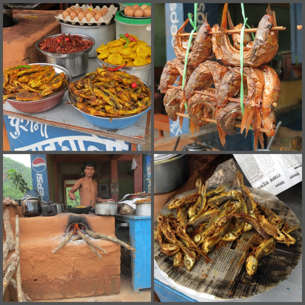 From the river that flows in their backyard, the fishes are served fresh, deep fried with a local spiced marinade