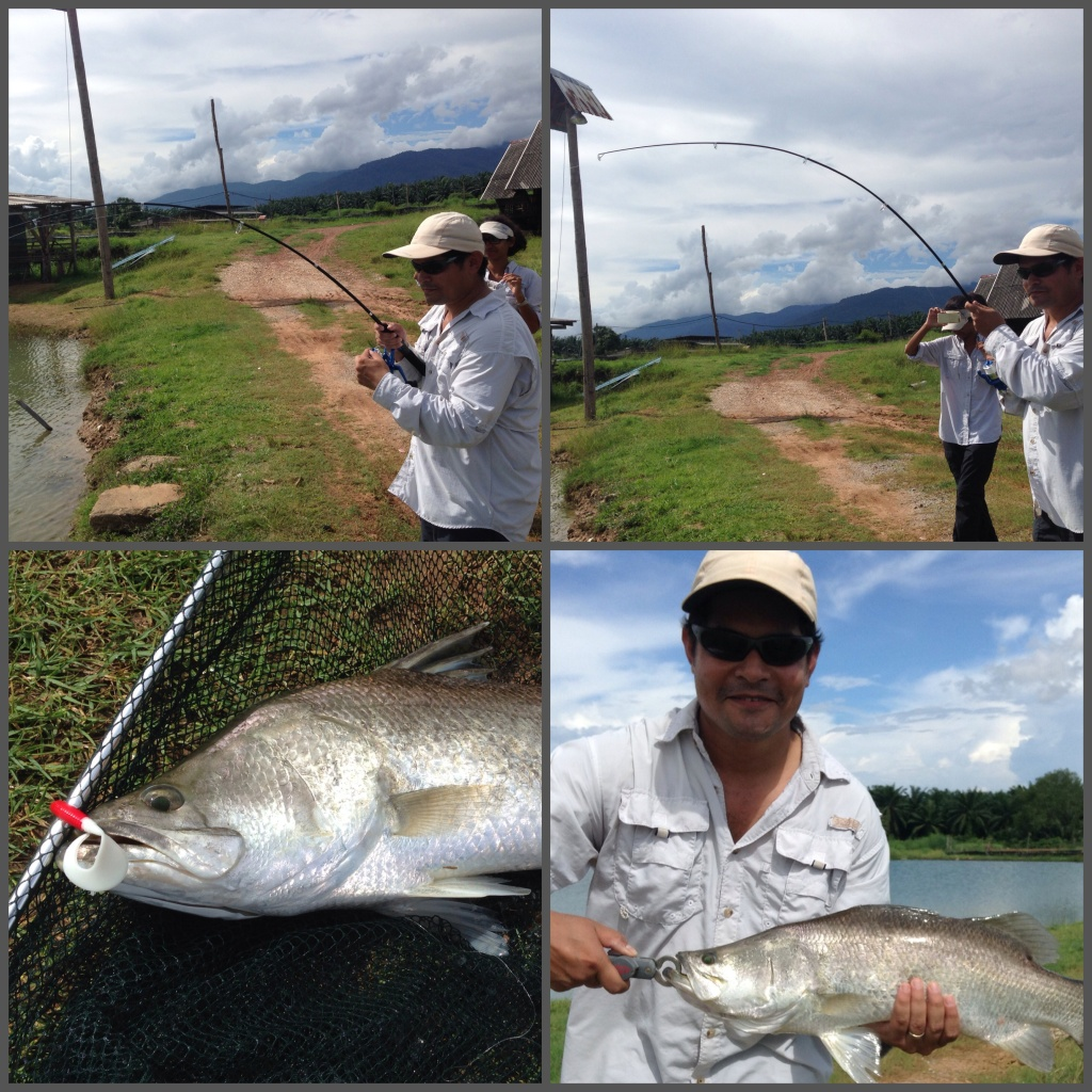 Naweshad's first Barramundi of the trip