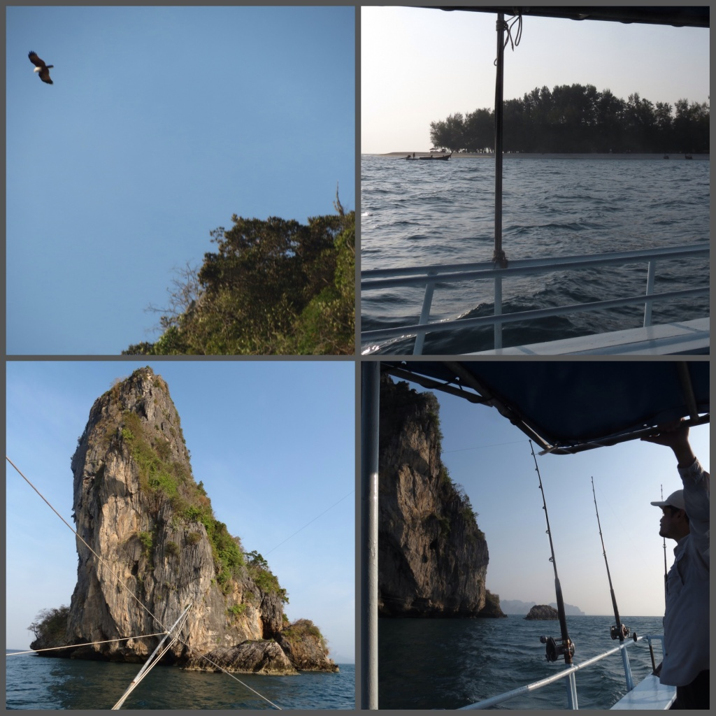 The beautiful rock formation and islands that surround