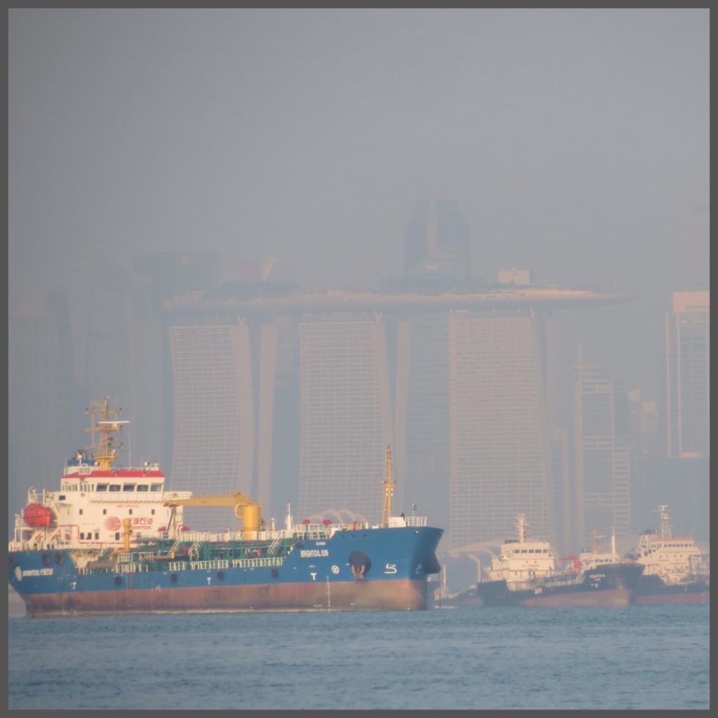 Leaving Singapore