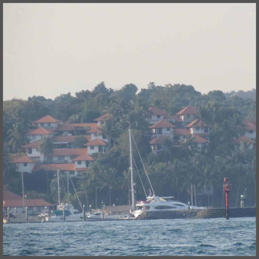 Arriving Batam. The view of Nongsa Point Marina & Resort