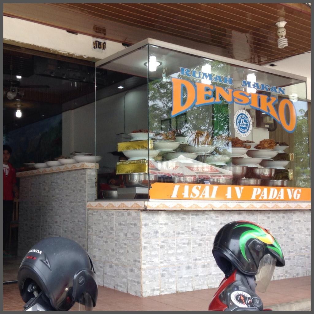 Densiko, amazing local Nasi Padang