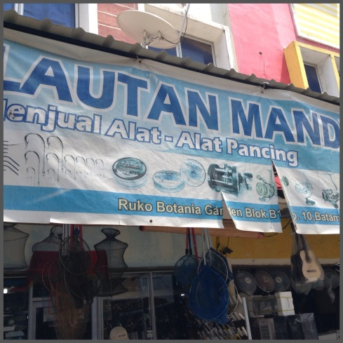 Lautan Mandiri, tackle shop