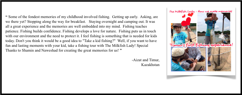The Milkfish Lady Testimonial