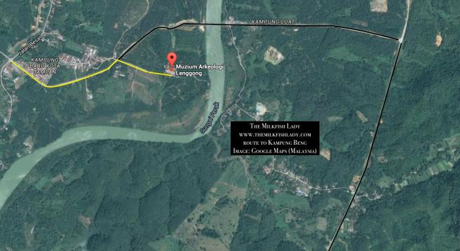Kg Beng Map 1
