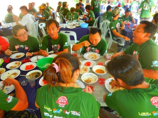 Something we truly enjoy in Kg. Beng too, the delicious food!