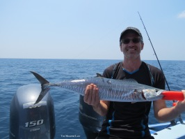 Mark and his first Spanish Mackerel