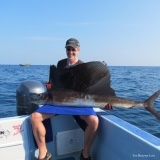 Finally, Mark lands his first Sailfish!