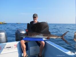 Finally, Mark lands his first Sailfish!