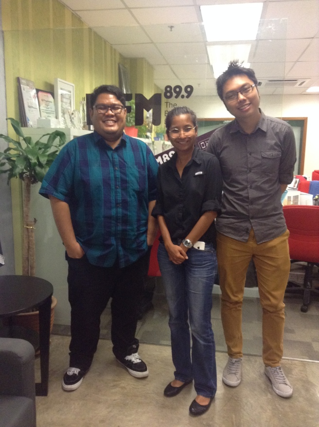 Ker Wei contacted us and the interview with Haniff was a lovely experience for our team. Thank you guys!
